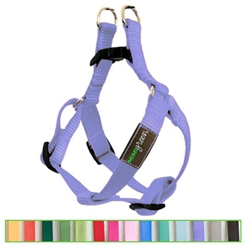 Grape Solid Nylon Webbing Dog Harness