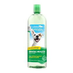 Fresh Breath Dental Health Solution for Dogs, 33.8oz. Bottle