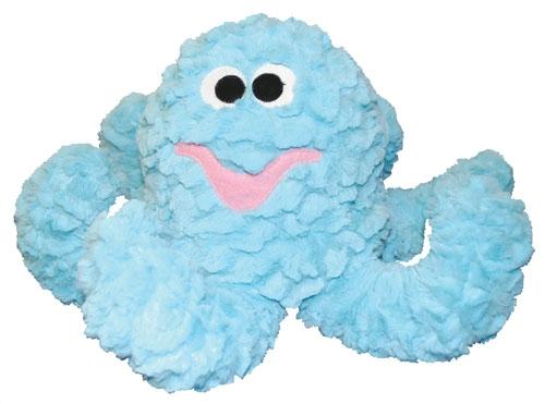 "Pastel Blue Octopus 15"""