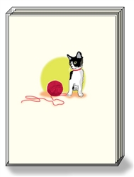 Cat & Yarn - Boxed Notes