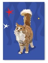 Birthday: Cat Tail Up