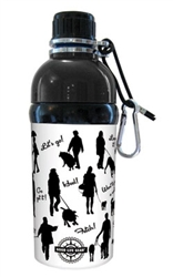 Pet Water Bottle - WALK (16 oz) Case of 24