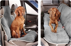 Granite Microvelvet Seat Covers