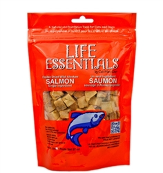 2oz Bags of Freeze Dried Wild Alaskan Salmon from Cat-Man-Doo