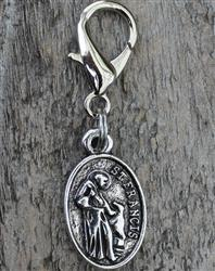 St. Francis of Assisi Dog Collar Charm