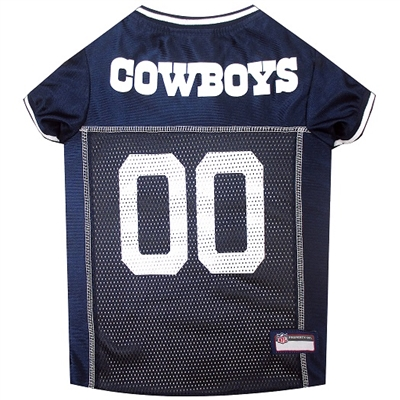 NFL Dallas Cowboys Dog Jerseys