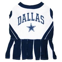 NFL Dallas Cowboys Cheerleader Dog Dress