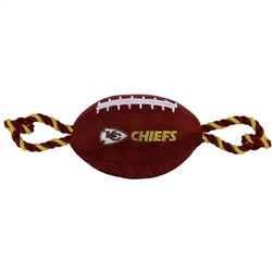 NFL Kansas City Chiefs Nylon Football Toy