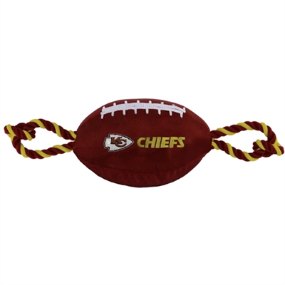 NFL Kansas City Chiefs Nylon Football Toy