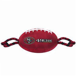 NFL San Francisco 49ers Nylon Football Toy