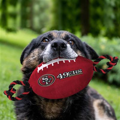 NFL San Francisco 49ers Nylon Football Toy