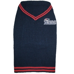 NFL New England Patriots Dog Sweater