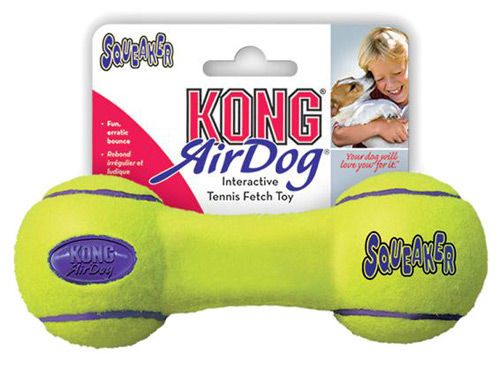 Air Kong® Squeaker Dumbbell