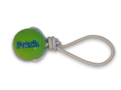 Orbee-Tuff® Fetch. With Rope Ball