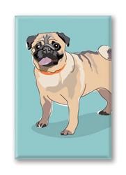 Pug Stand - Fridge Magnet