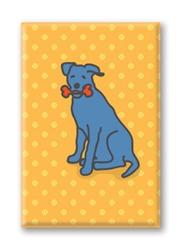 Bluedog Bone - Fridge Magnet