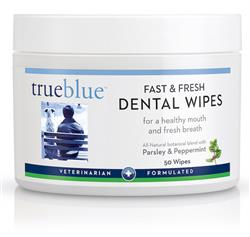 Fast and Fresh Dental Wipes - 50 pads from TrueBlue