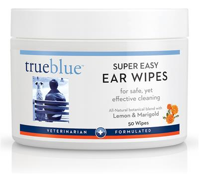 Super Easy Ear Wipes - 50 pads- from TrueBlue