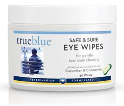 Safe and Sure Eye Wipes - 50 pads from TrueBlue