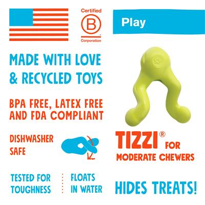 Tizzi - Play & Treat Toy