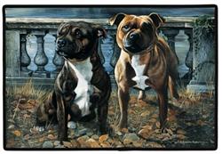 Staffordshire Bull Terrier Doormat