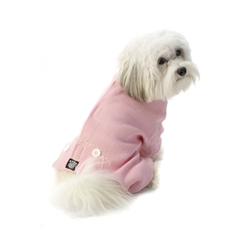 Cozy PJ's Pink/White