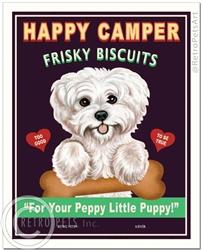 Happy Camper Frisky Biscuits (Maltese)