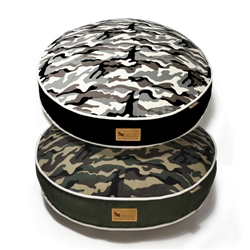 Camouflage Round Bed