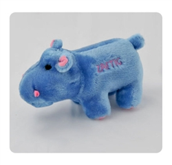 Dog Toy - Zaftig the Hippo