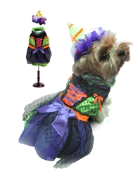 Halloween Neon Green Witch