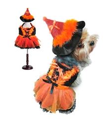 Orange & Black Witch