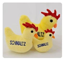 Dog Toy - Schmaltz the Chicken