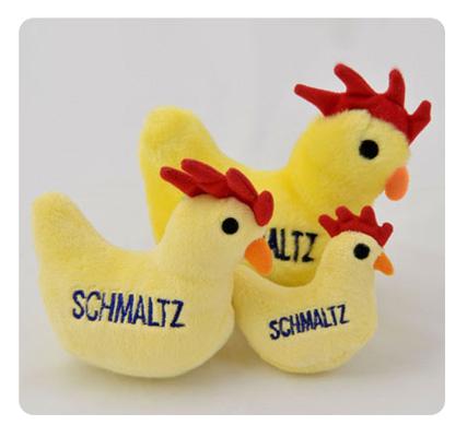 Dog Toy - Schmaltz the Chicken