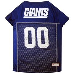 NFL New York Giants Dog Jerseys