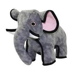 Emery Elephant Toy by Tuffy's Zoo Series