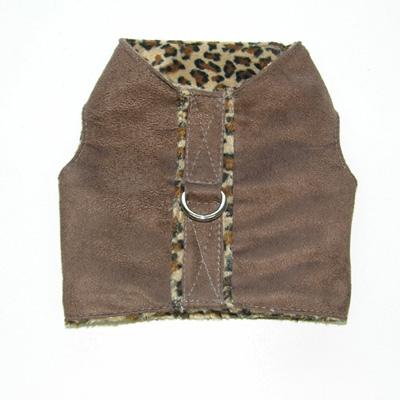 Chocolate Leopard Vest by Ruff Ruff Couture®