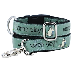 Wanna Play? Collars & Leads a Teddy The Dog & 2 Hounds Design Collaboration