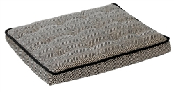 Luxury Crate Mattress Herringbone Microvelvet