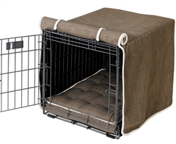 Luxury Crate Cover Driftwood Microlinen
