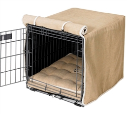 Luxury Crate Cover Flax Microlinen