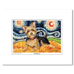 Van Growl Matted Print Collection