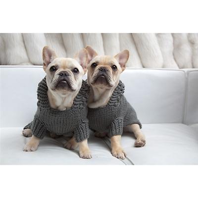 Isabella Cane Titanium Gray Hooded Sweater