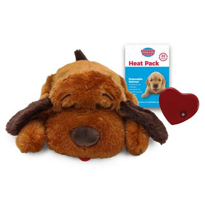 Snuggle Puppy Behavioral Aid Toy - Brown Mutt