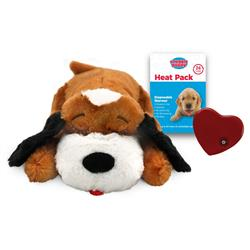 Snuggle Puppy Behavioral Aid Toy - Brown & White