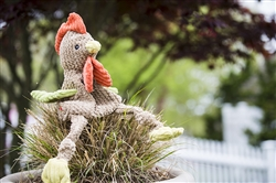 Plush Durable Rooster Knottie