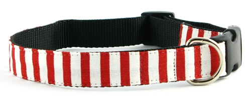 Candy Cane Stripe Collars and Leashes