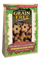 Grain Free Atlantic Salmon Crunchers w/ Coconut & Kelp (12oz)