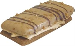 Peanut Butter Dipped Bars