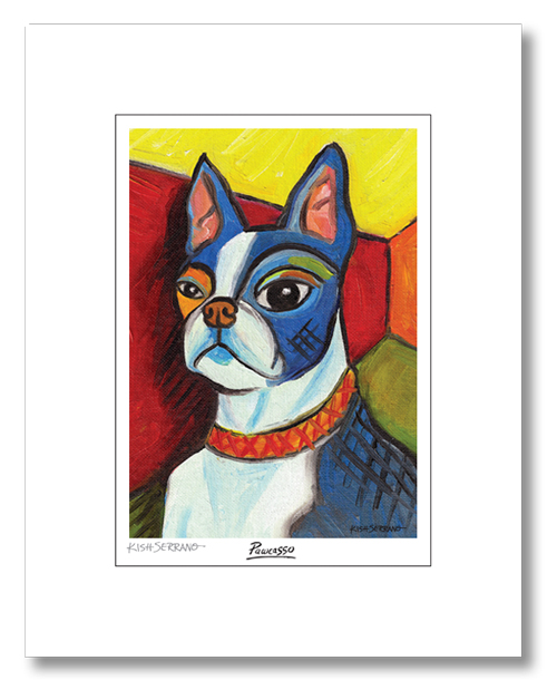 Pawcasso Matted Print Collection