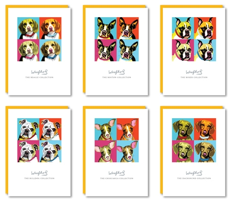 Woofhol Matted Print Collection